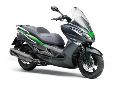 Kawasaki tar steget in i en ny spännande värld med skotern J300