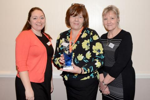 ellenor's pioneering work with carers is recognised