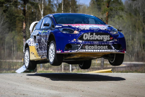RallyX gör klart för start – spännande startfält