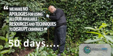 Merseyside Police marks 50 days since launch of Operation Target