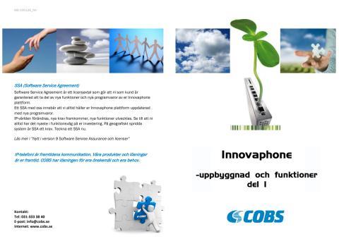 Innovaphone - uppbyggnad och funktioner