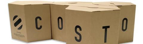Toimiva verkkokauppapakkaus tukee COSTO:n brändiä