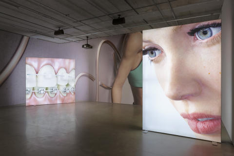 Kate Cooper - Rigged, 2014 (installation image Bonniers Konsthall)