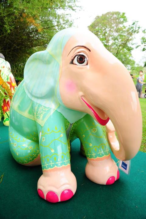 Miss Malaysia: Elephant Parade Singapore