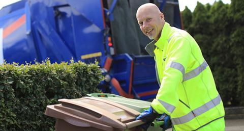 Ändrad sophämtning och öppettider på återvinningscentralerna i påsk