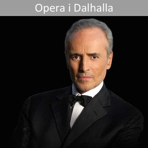 Världstenoren José Carreras gör jubileumskonsert i Dalhalla!