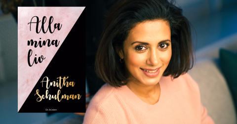 Anitha Schulman debuterar som skönlitterär författare med Alla mina liv