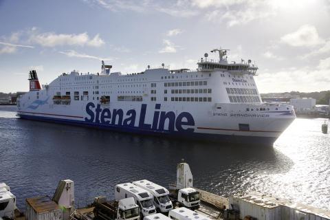 Stena Scandinavica im Kieler Hafen