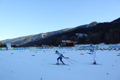 Sofie Elebro från Östersund sexa i skiathlonen i Universiaden