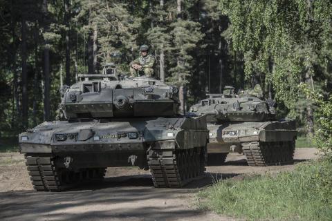 Övning Våreld - armén övar i Skövde och Karlsborg