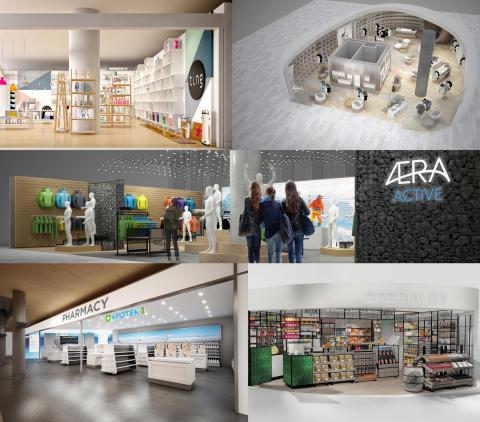 Slik blir shoppingen på Oslo Lufthavn i 2017