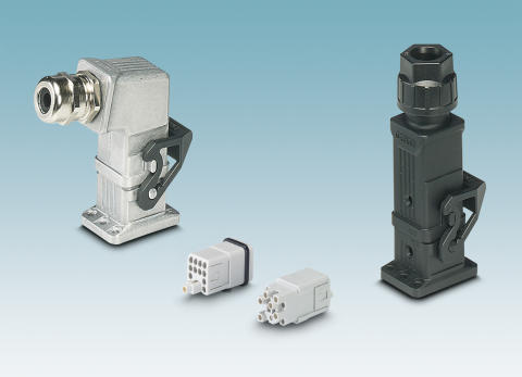 Heavy-duty connectors for compact power transmission
