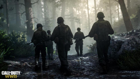 LG Electronics officiell TV-partner för Activisions Call of Duty: WWII