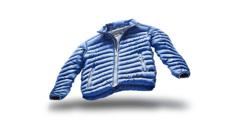 Launching new lightweight jacket.