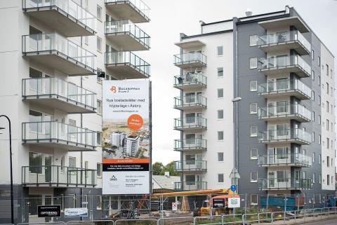 De två niovåningshusen, Brf Backsippan  – en investering som lyfter Åstorp