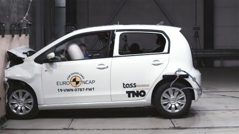 Volkswagen up! frontal full width test Dec 2019