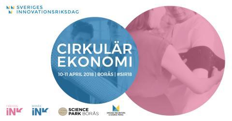 Pressträff med miljöminister Karolina Skog och näringsminister Mikael Damberg under Sveriges Innovationsriksdag 2018