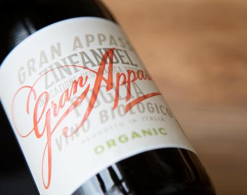 Höga poäng! Gran Appasso Organic får 97 poäng av Luca Maroni