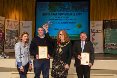 Bury and Radcliffe beat the heat to scoop more prominent awards