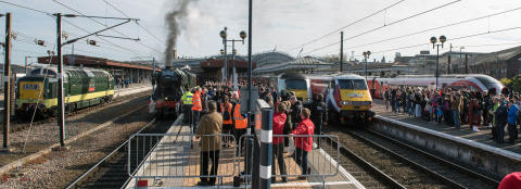 Back to the future as history made with east coast rail icons