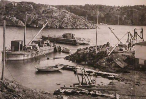 Från roddbåt till bro