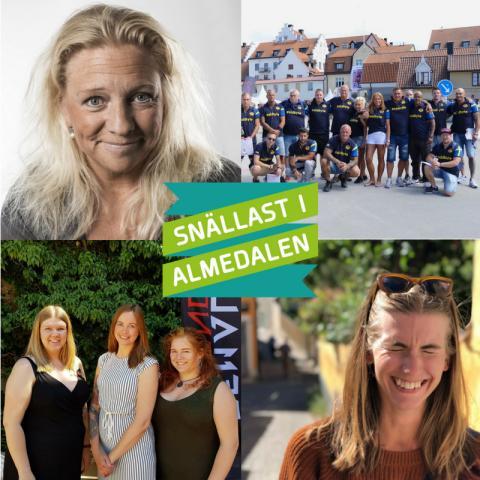 De är nominerade till Snällast i Almedalen 2018 – vinnaren koras kl 17