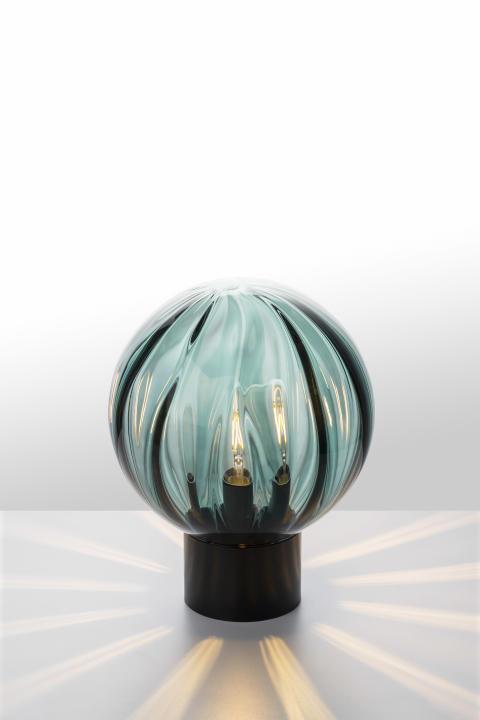 Bordlampe Optikk i blågrønn
