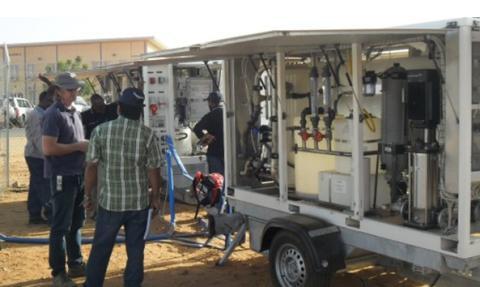 Grundfos levererar vattenlösningar till fredsbevarande uppdrag