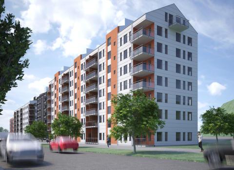 Kvarteret Makrillen i Gamlestaden - Bostadsrätter Egnahemsbolaget