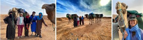 THE SAHARA EXPEDITION: WHAT HAPPENS WHEN THE LAND RUNS OUT?
