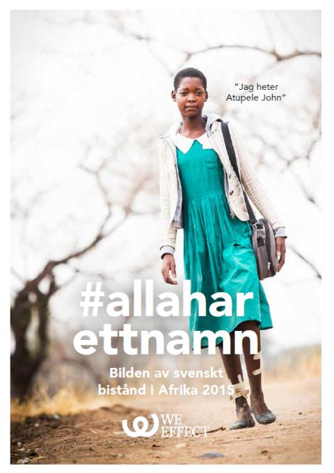 Ny rapport: Var fjärde afrikan namnges i svenska tidningar