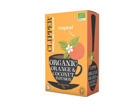 Clipper Organic Orange & Coconut Infusion