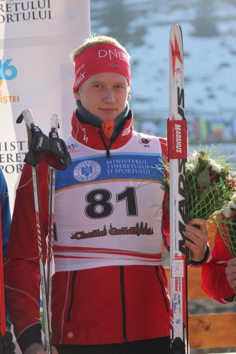 Isak Flo Bødal,blomstersermoni,sprint menn junior, junior-vm 2016