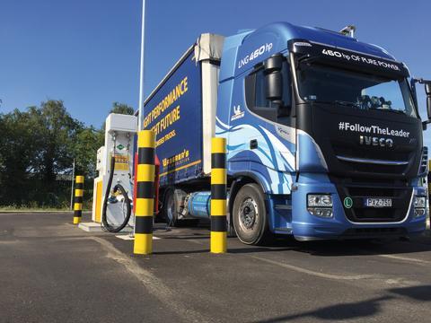 BioLNG Euronet ska driva på utfasningen av fossila bränslen inom Europas vägtransporter med LNG