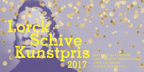 Prisutdeling: Lorck Schive Kunstpris 2017!