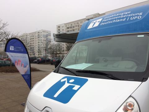 Beratungsmobil der Unabhängigen Patientenberatung kommt am 27. April nach Schwedt.