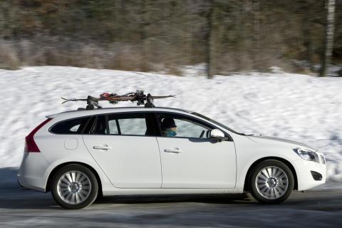 Nya Volvo V60 är lätt lastbar
