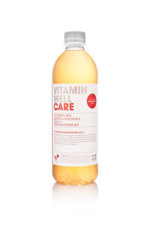 Vitamin Well för Musikhjälpen