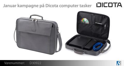 Januar kampagne på Dicota computer tasker