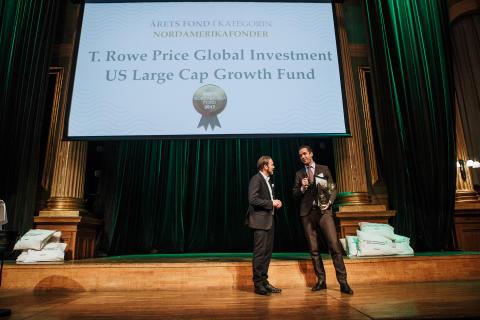 Årets Nordamerikafonde 2017 - T.Rowe Price Global Investment US Large Cap Growth Fund
