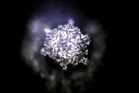 Georgsquelle-Kristall nach Emoto