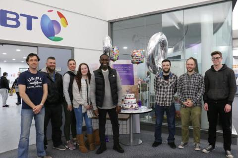 Expanding BT contact centre rings up 20 years in Newcastle