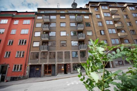 Husab renoverar kvarteret Veken, Åsögatan 180 åt HEBA