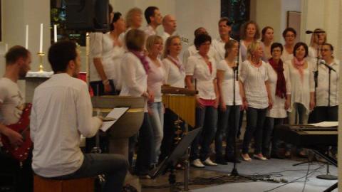 Vårens första dag - konsert med kören Andra Ord i Lindesberg