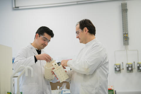 Northumbria professor develops breath collecting device that could change Coronavirus diagnosis around the world