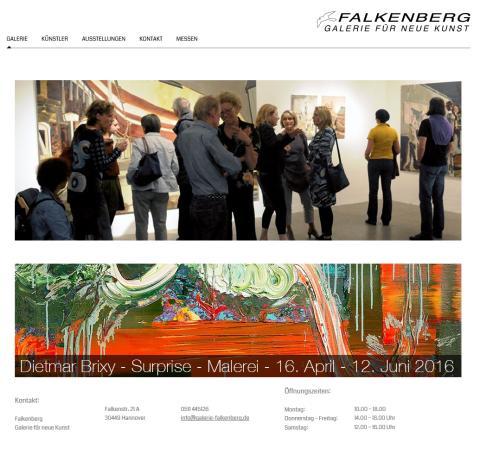 Galerie Falkenberg Hannover: Dietmar Brixy - Sabine Wewer