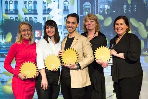 MEDS marknadschef Marika Baltscheffsky utsedd till Årets Framtidslöfte