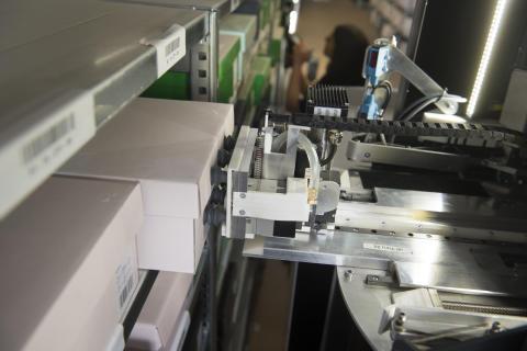 Der Roboter TORU im Einsatz