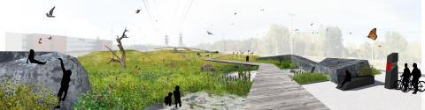 White arkitekter vidare i landskapstävling i Kanada