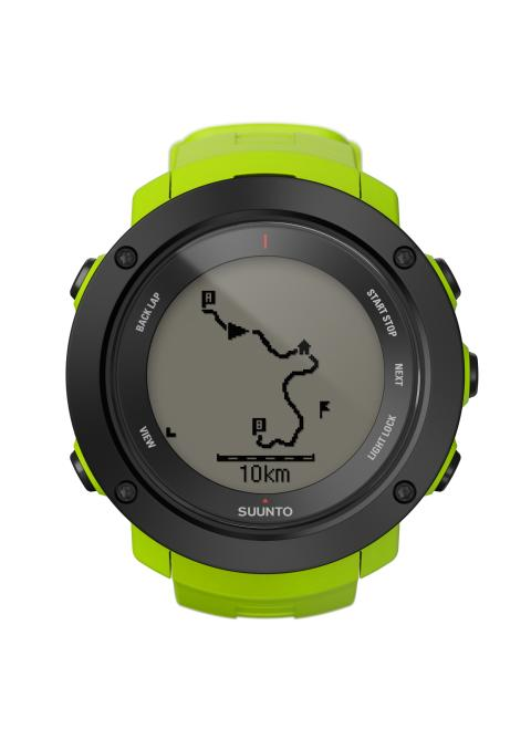 Suunto Ambit3 Vertical lime front